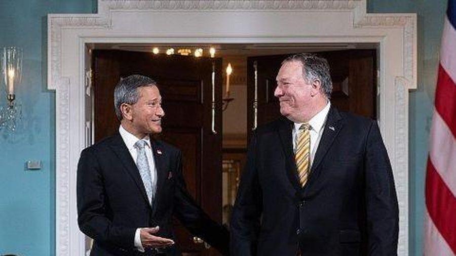 Ngoại trưởng Pompeo: Mỹ phản đối hành vi 'cưỡng ép' của TQ ở Biển Đông
