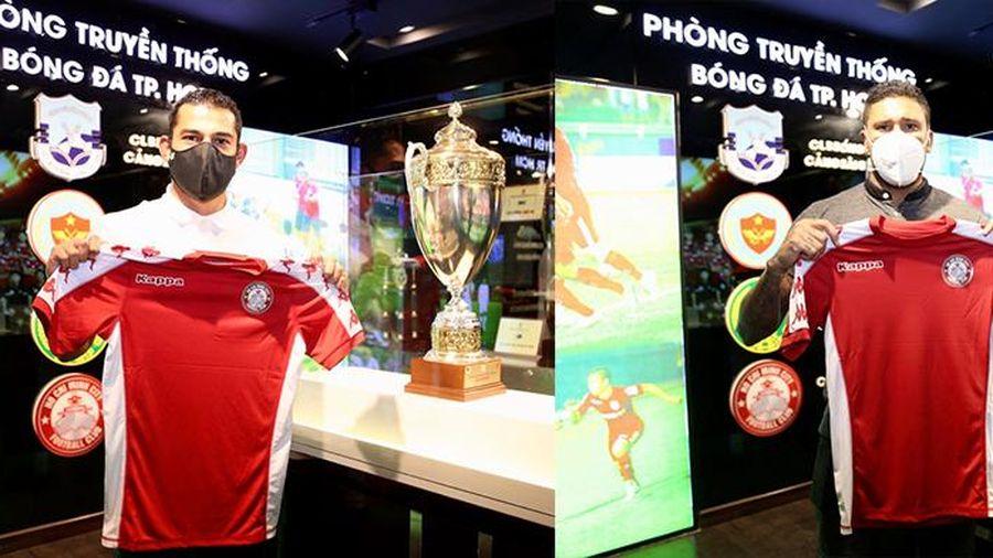 CLB Bóng đá TP Hồ Chí Minh chính thức chiêu mộ 2 tân binh từ Trung Mỹ