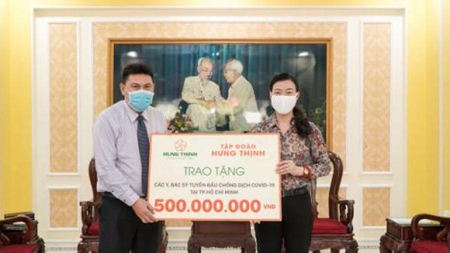 Tập đoàn Hưng Thịnh tiếp tục ủng hộ 20 tỷ đồng phòng chống Covid-19