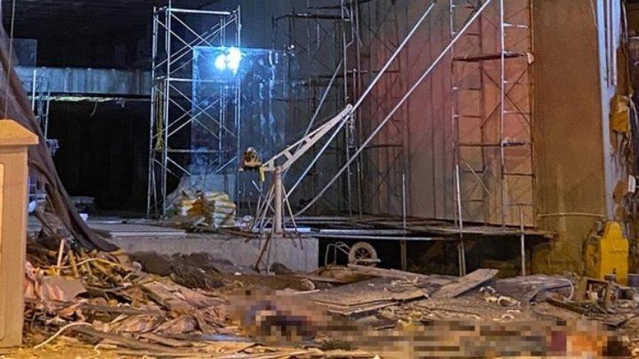 Khởi tố, điều tra vụ sập giàn cẩu khiến bốn người thiệt mạng