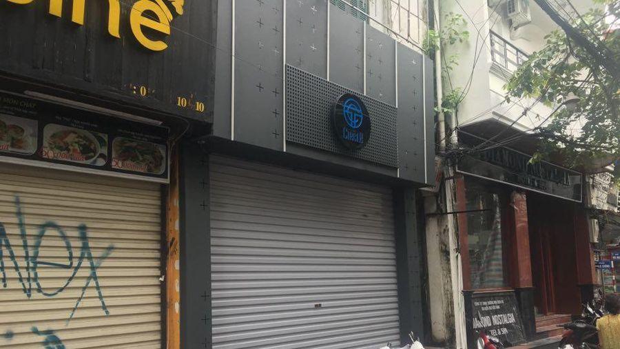 Vi phạm phòng chống dịch, một quán bar ở phố cổ bị phạt 40 triệu đồng