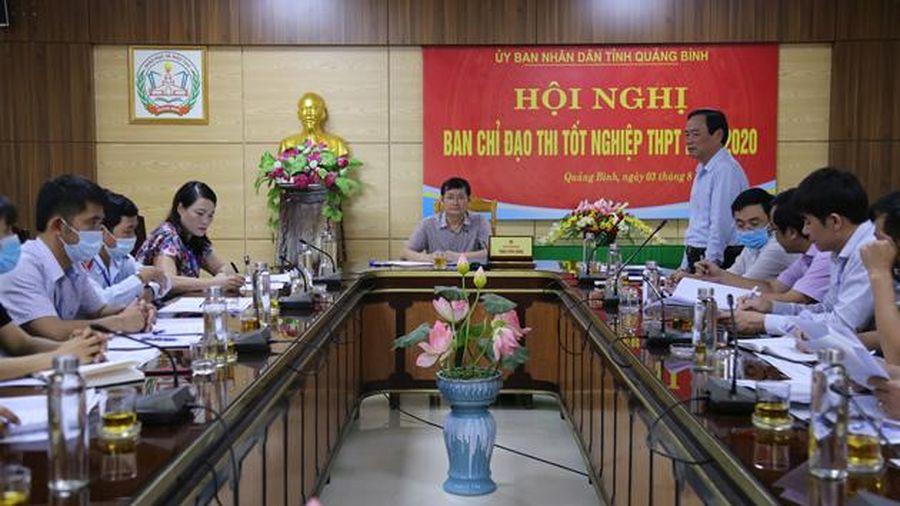 Quảng Bình chuẩn bị nhiều phương án cho kỳ thi tốt nghiệp THPT