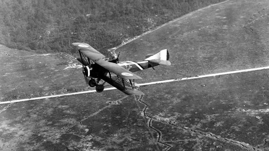 Ảnh thú vị về các cuộc không chiến trong Thế chiến I