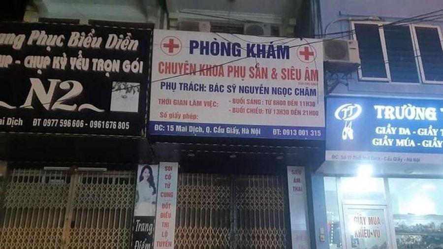 Phòng khám BS Nguyễn Ngọc Châm làm tử vong thai phụ: Hé lộ nguyên nhân