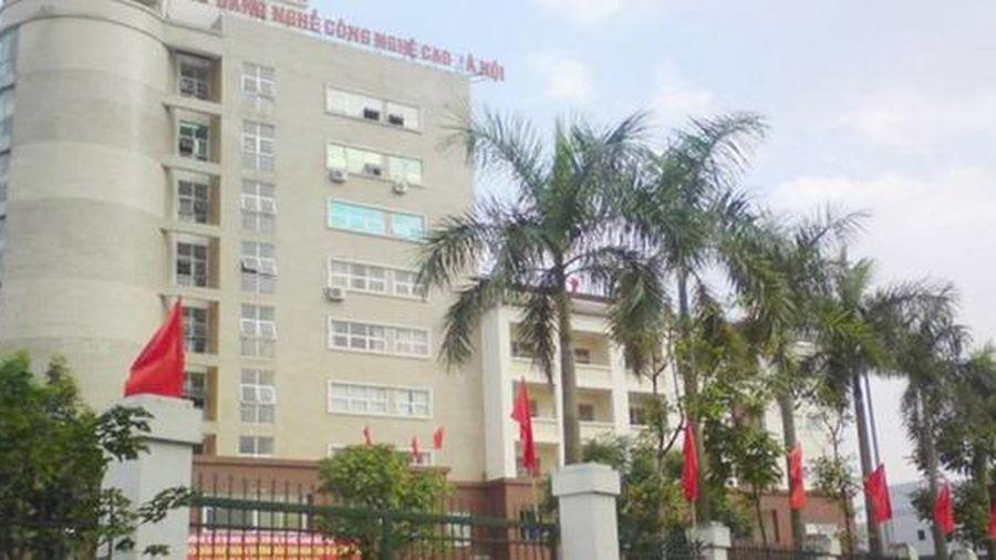 Hà Nội chọn trường cao đẳng nghề công nghệ cao làm điểm thi cách ly tập trung