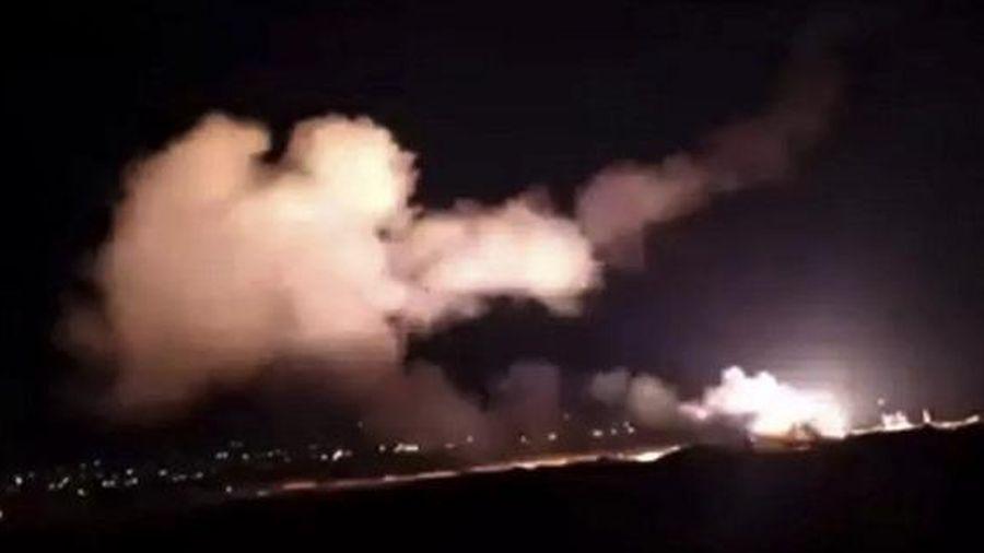 Syria chặn 'mục tiêu thù địch' trên bầu trời thủ đô