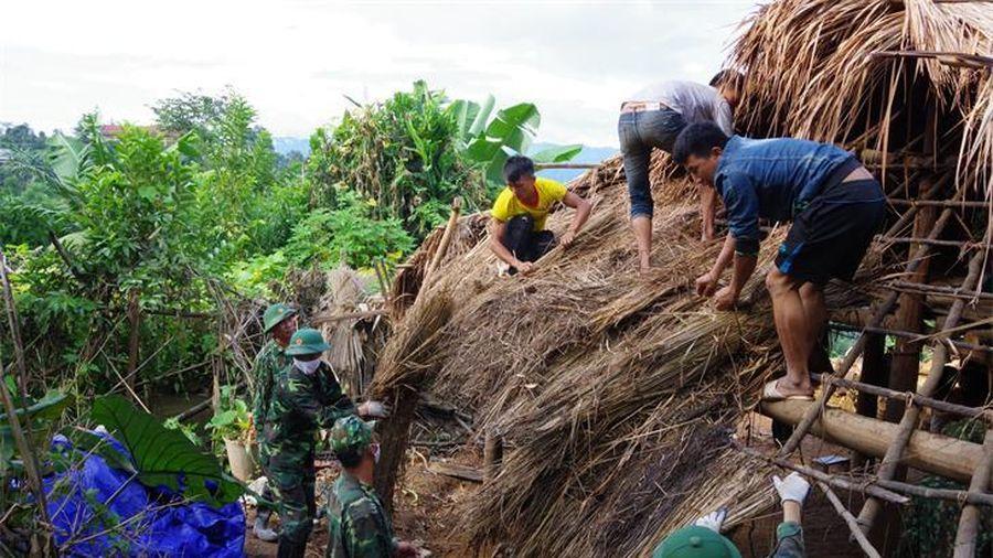 Đẩy nhanh tiến độ làm nhà cho hộ nghèo tại huyện Nậm Pồ