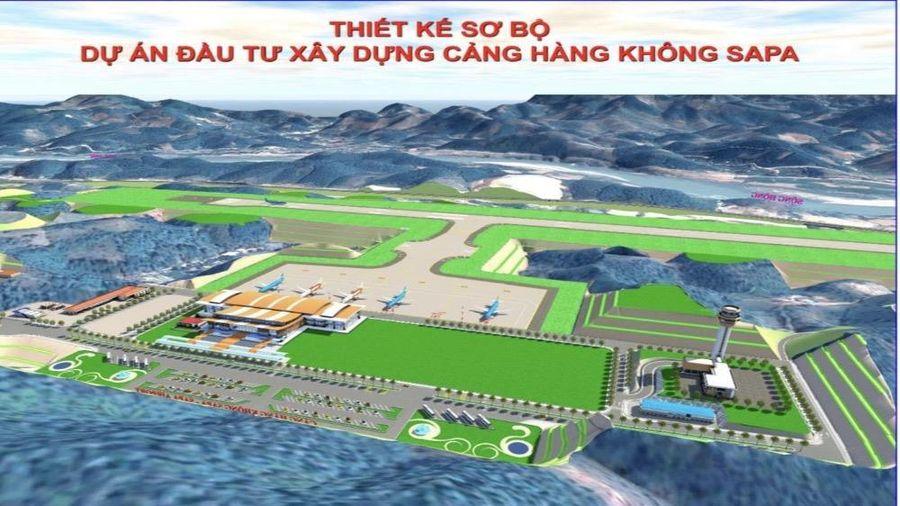 Hoàn thiện hồ sơ xin chủ trương đầu tư Dự án xây dựng Cảng hàng không Sa Pa