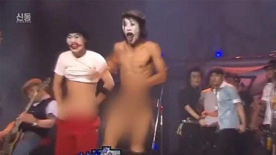 Sự cố phát sóng xấu hổ nhất Hàn Quốc: Nghệ sĩ tụt quần trên sân khấu trực tiếp