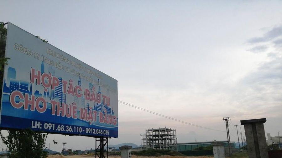 Khu công nghiệp bỏ hoang trở thành tụ điểm tiêm chích