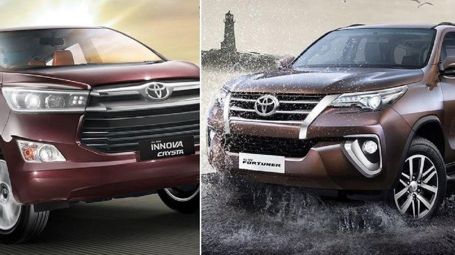 Toyota triệu hồi hàng trăm chiếc Fortuner và Innova lắp ráp trong nước
