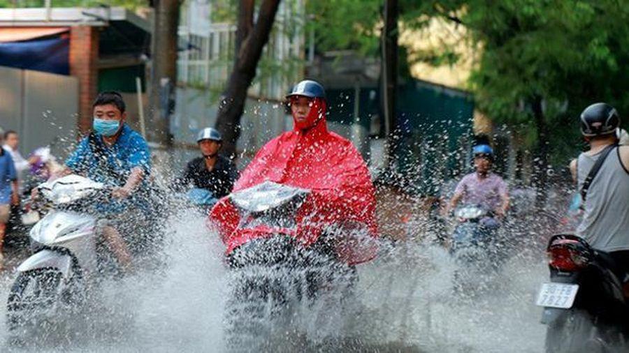 Dự báo mưa lớn diện rộng ở Bắc Bộ và Thanh Hóa