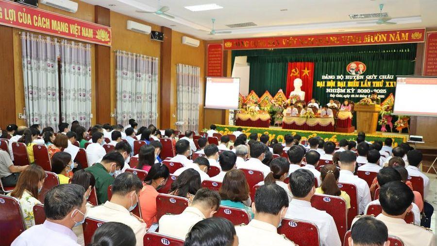 Các chỉ tiêu chủ yếu của Đảng bộ huyện Quỳ Châu nhiệm kỳ 2020 - 2025