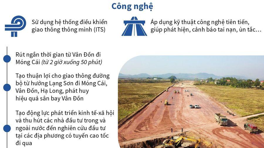 Cơ bản hoàn thành giải phóng mặt bằng cao tốc Vân Đồn - Quảng Ninh