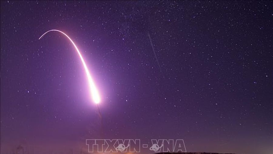 Mỹ phóng thử nghiệm tên lửa đạn đạo liên lục địa không mang đầu đạn