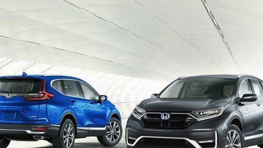 Honda CR-V 2020 thay đổi ở cả ngoại hình và công nghệ bên trong