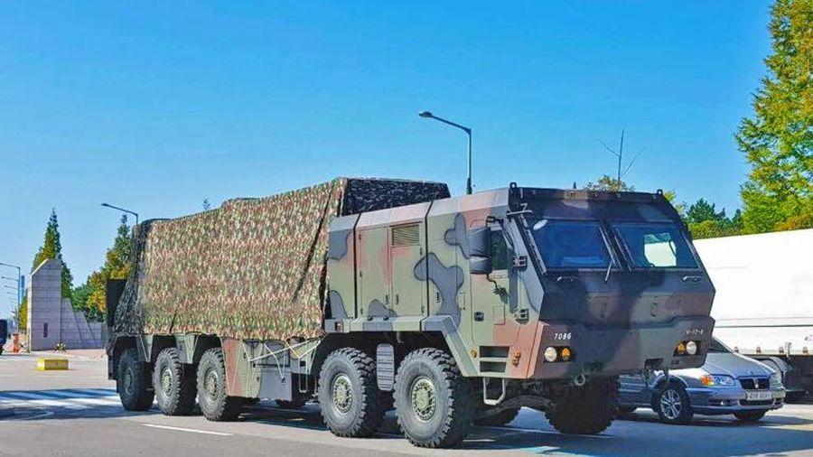 Hàn Quốc phóng thử tên lửa đạn đạo thế hệ mới