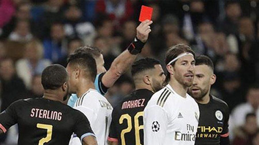 Thiếu vắng Sergio Ramos, Real 'run rẩy' trước màn tái đấu Man City ở Champions League