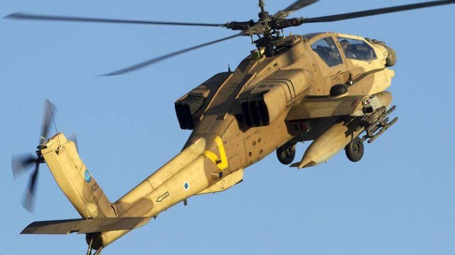 Syria bị máy bay trực thăng Israel tấn công tên lửa