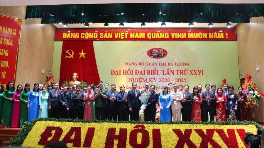 Ông Nguyễn Văn Nam tái đắc cử Bí thư Quận ủy Hai Bà Trưng
