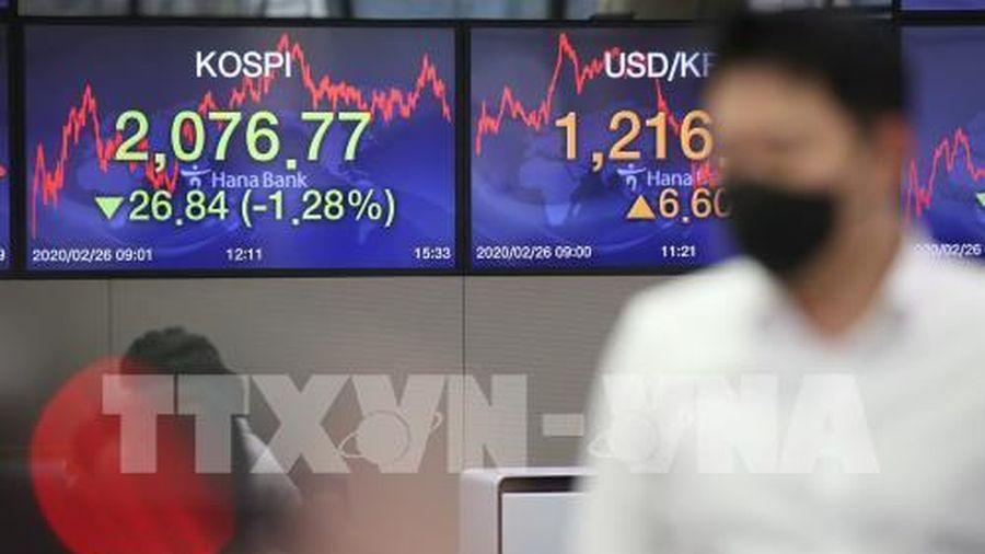 Thị trường chứng khoán châu Á tăng điểm chiều 4/8