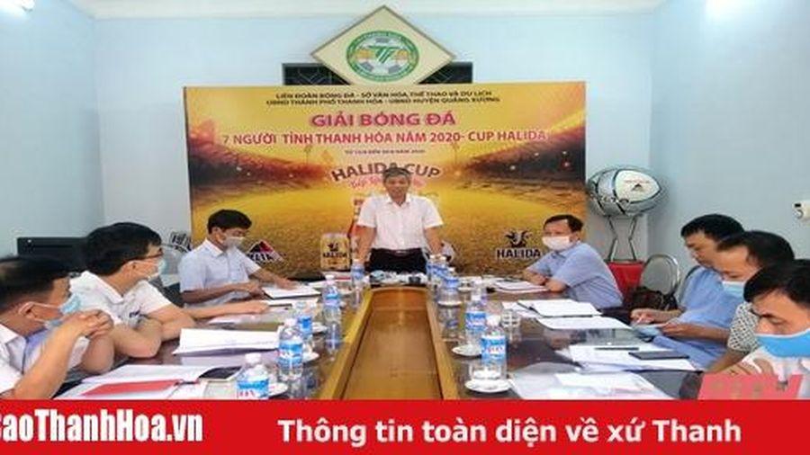 23 đội bóng tranh tài tại Giải bóng đá 7 người tỉnh Thanh Hóa – Cúp Halida 2020