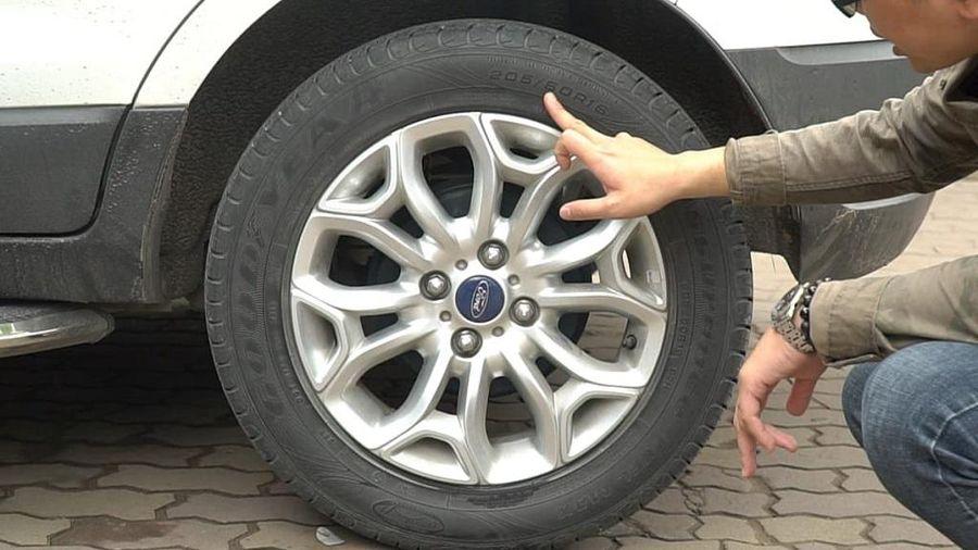 Những nguyên nhân khiến lốp ô tô bị mòn không đều