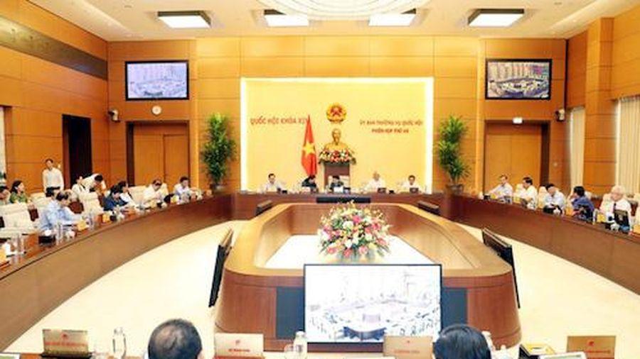 Không tổ chức chất vấn tại phiên họp của Ủy ban Thường vụ Quốc hội