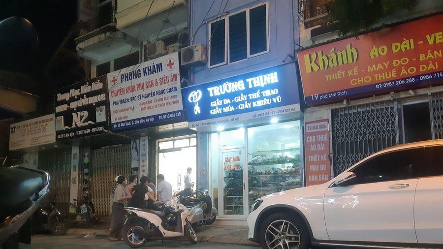 Thai phụ 15 tuần tử vong khi nạo phá thai tại phòng khám tư ở Hà Nội