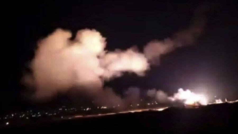 Phòng không Syria chặn nhiều mục tiêu thù địch từ Israel