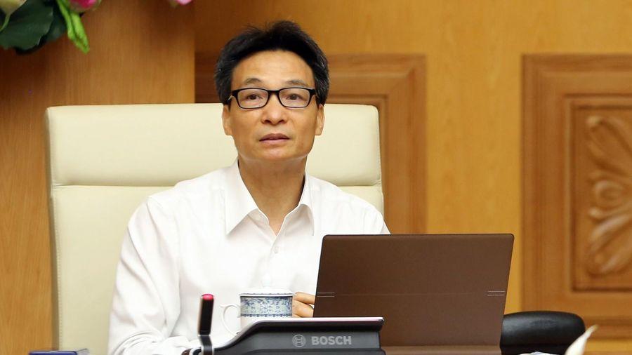 Phó Thủ tướng Vũ Đức Đam yêu cầu dập nhanh nhất ổ dịch tại Đà Nẵng