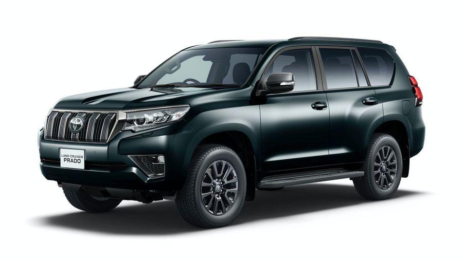 Toyota Land Cruiser Prado ra mắt bản Black Edition giới hạn