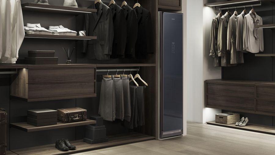 Samsung AirDresser: Tủ quần áo thông minh chăm dưỡng quần áo mà không cần giặt giũ