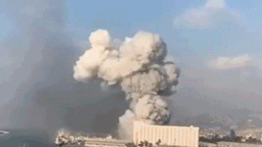 'Khoảnh khắc tận thế' ở Lebanon: Giải mã 'đám mây nấm tử thần' xuất hiện trong vụ nổ ở Beirut
