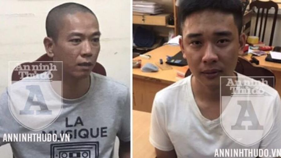 Tạm giam hai đối tượng trong vụ cướp 942 triệu đồng của Ngân hàng BIDV Chi nhánh Ngọc Khánh