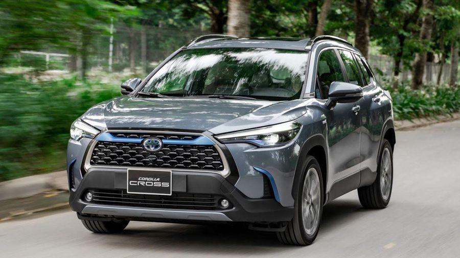 Toyota ra mắt phiên bản Corolla Cross Hybrid tại Việt Nam