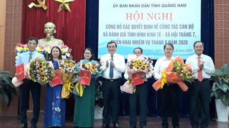 Quảng Nam: Điều động, bổ nhiệm nhiều lãnh đạo cấp sở