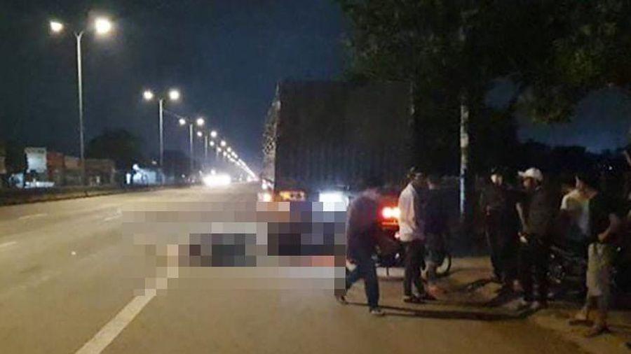 Vũng Tàu: Nghi say xỉn tông đuôi container tử vong
