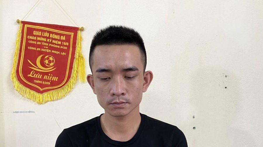 Bắt kẻ truy nã tội giết người sống trong khu trọ ở Hà Nội