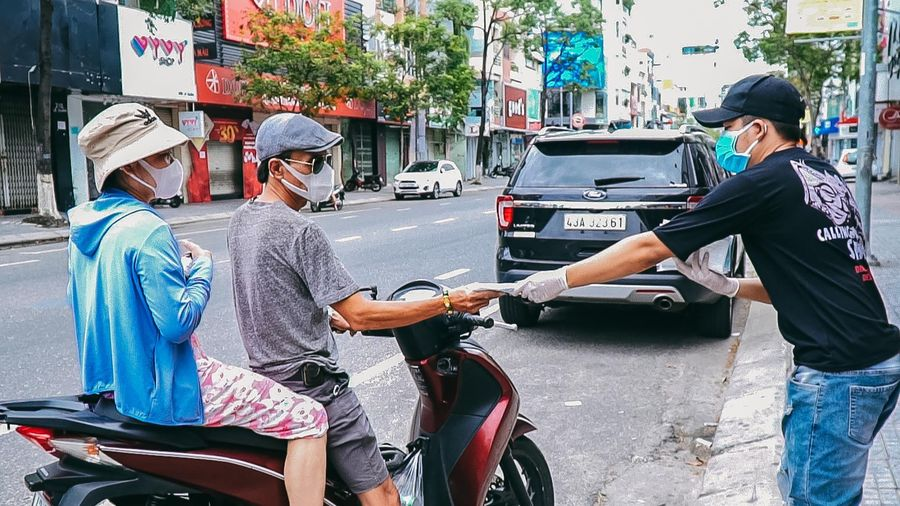Khẩu trang 'không bán chỉ cho' ở Đà Nẵng