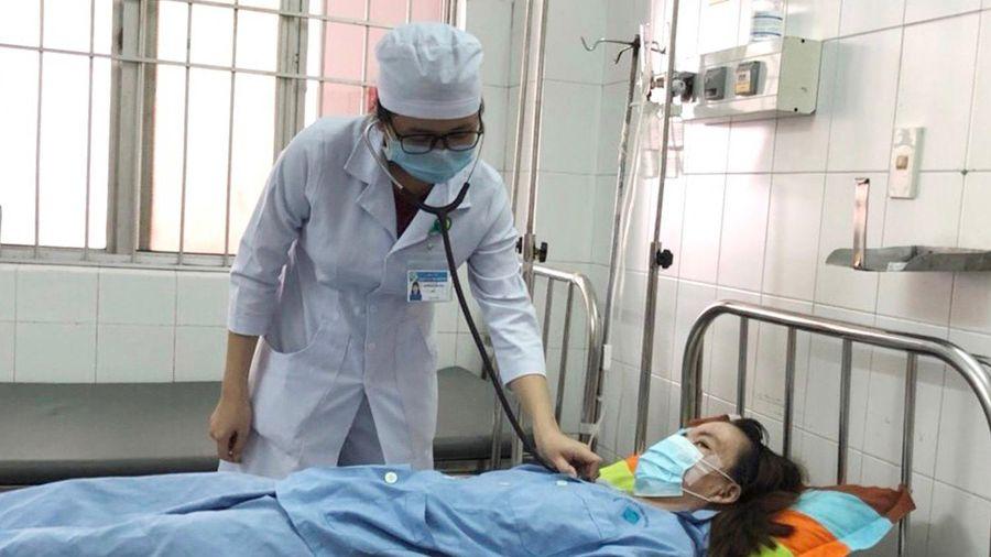 Nhiễm trùng phổi sau khi ngã xuống ao