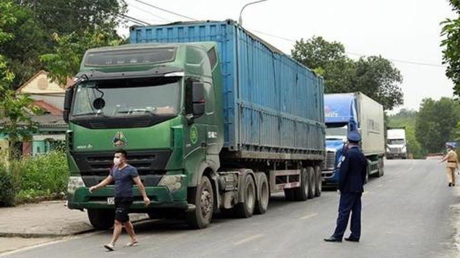 Lập chốt kiểm soát Covid-19 trên các tuyến đường từ Quảng Ninh đến Bắc Giang