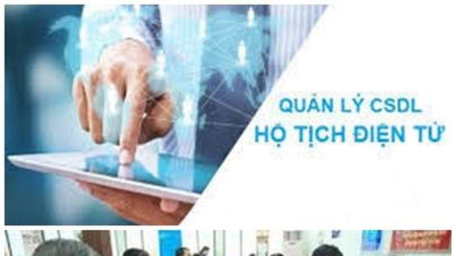 Quy định về Cơ sở dữ liệu hộ tịch điện tử, đăng ký hộ tịch trực tuyến
