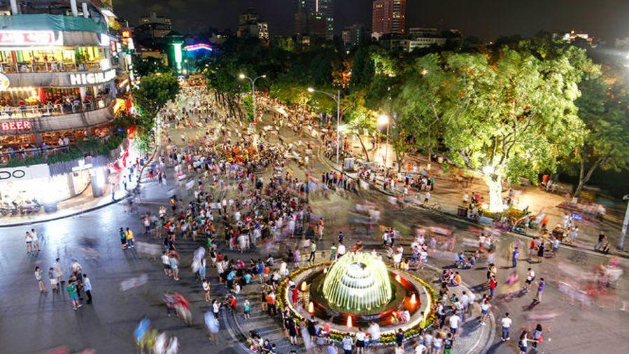 Dừng tổ chức lễ hội tại không gian đi bộ hồ Hoàn Kiếm