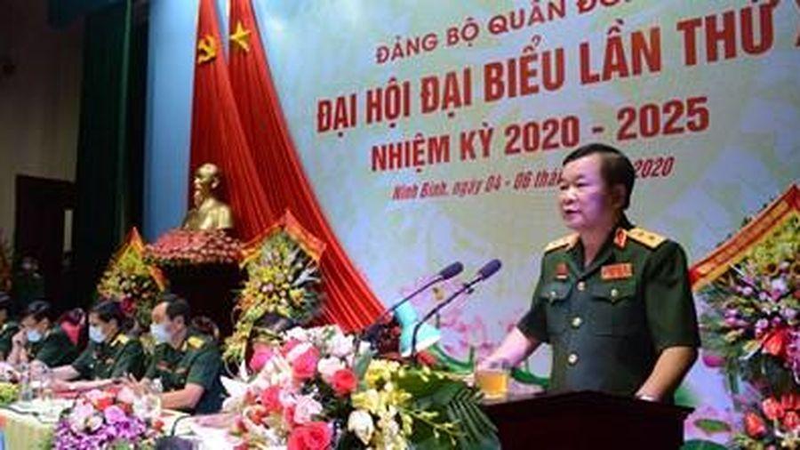 Đại hội đại biểu Đảng bộ Quân đoàn 1 nhiệm kỳ 2020-2025