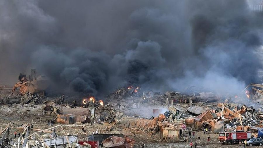 Hiện trường 'như tấn công khủng bố' sau vụ nổ ở Lebanon