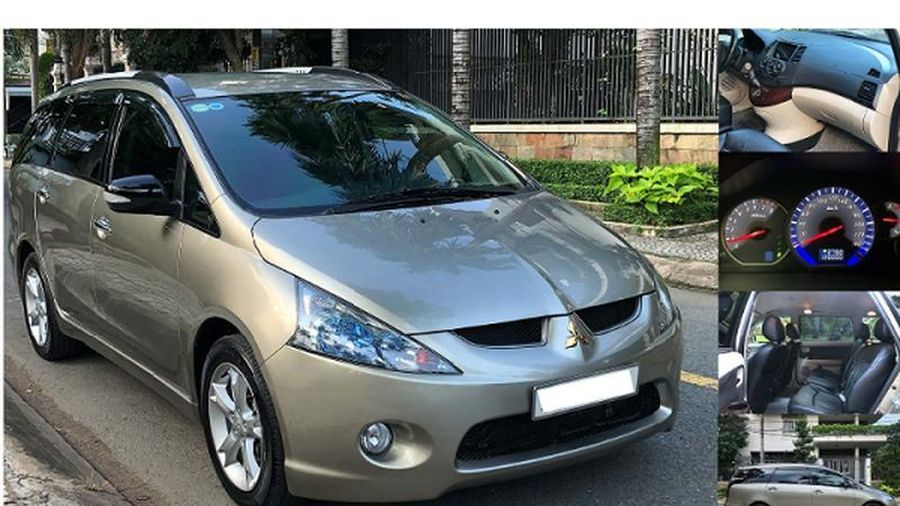 Mitsubishi Grandis 2009 chưa tới 450 triệu đồng tại Việt Nam