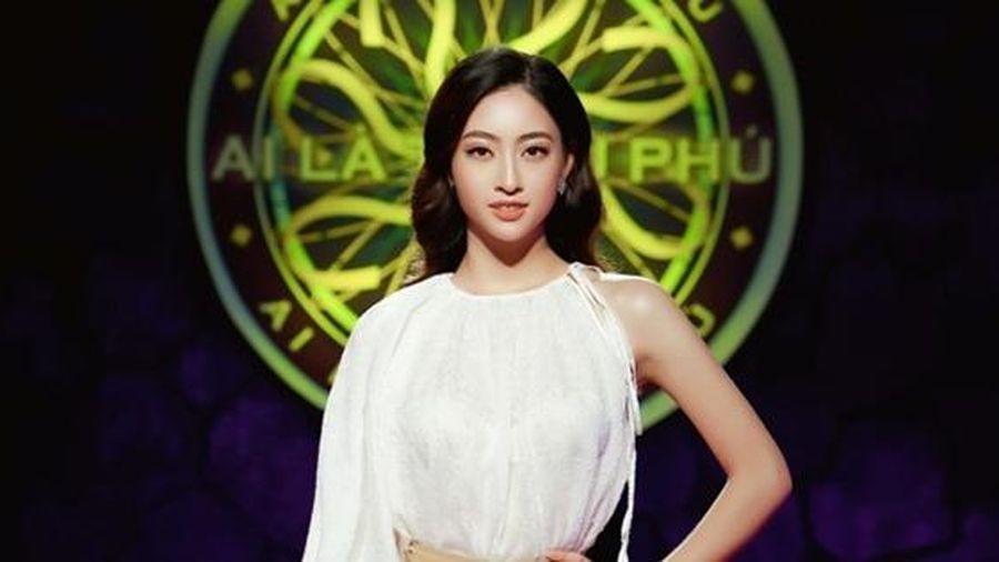 Tham gia Ai là triệu phú, Hoa hậu Lương Thùy Linh ứng đáp xuất sắc