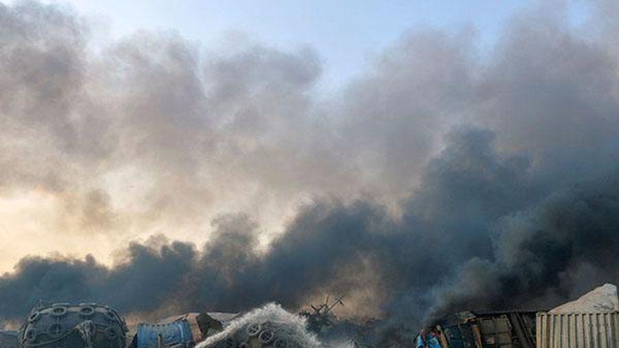 Sức tàn phá của vụ nổ ở Lebanon gây ra địa chấn tương đương trận động đất 3,3 độ richter