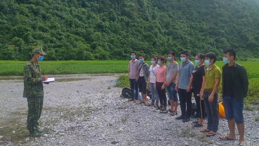 Tiếp tục phát hiện, bắt giữ nhiều lao động nhập cảnh trái phép từ Trung Quốc